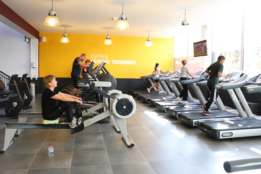 salle de sport Moving Express Courbevoie